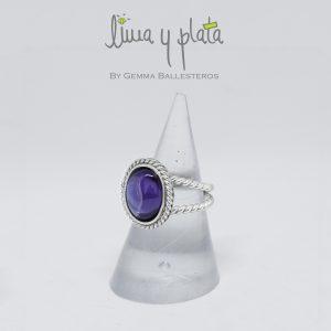 anillo de zirconio