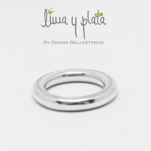 anillos y aros de plata